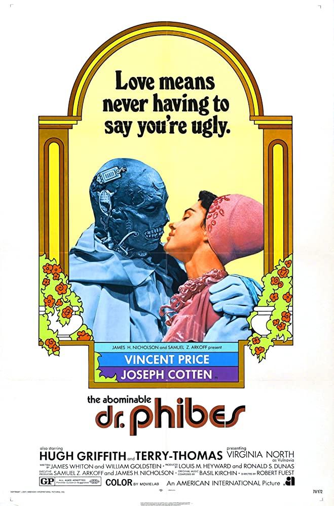 Retour vers le passé :  L'abominable Dr Phibes (1971)
