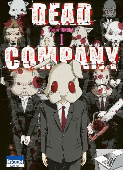 Découvrez les premières pages en ligne du manga Dead Company !