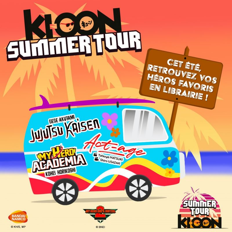 Ki-oon lance son Summer Tour 2020 !