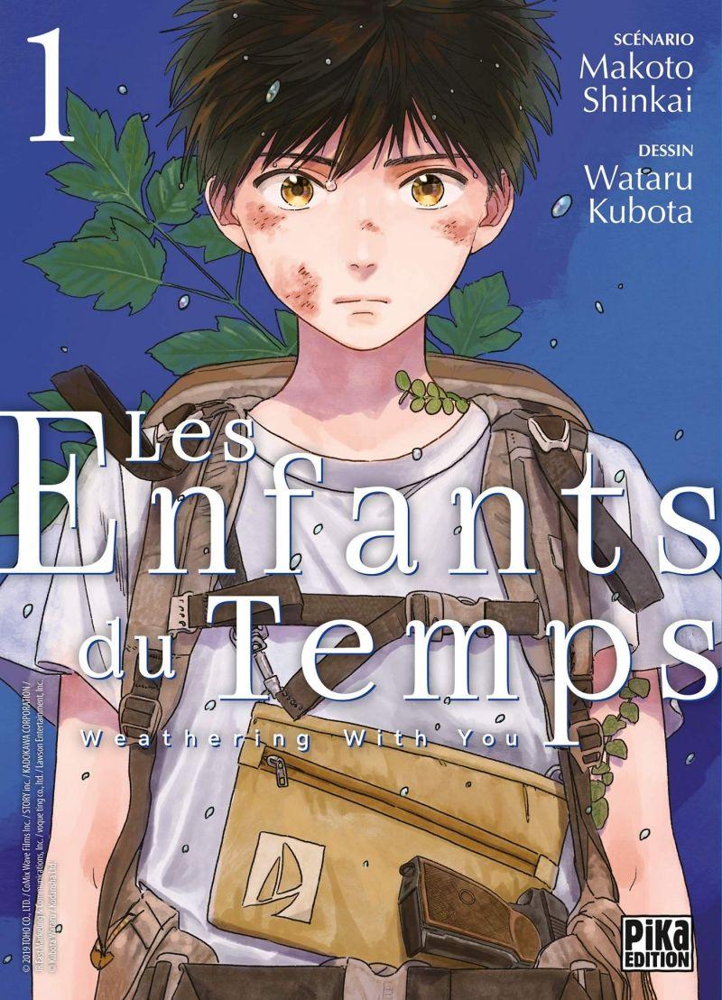 Le manga Les Enfants du Temps se termine