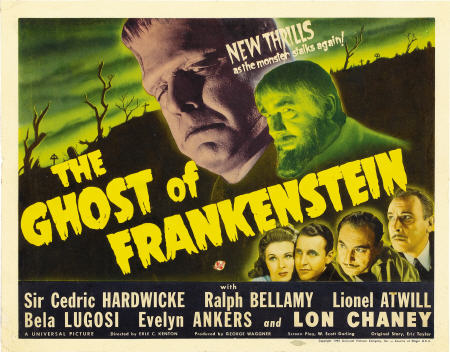 Retour vers le passé :  Le Spectre de Frankenstein (1942)