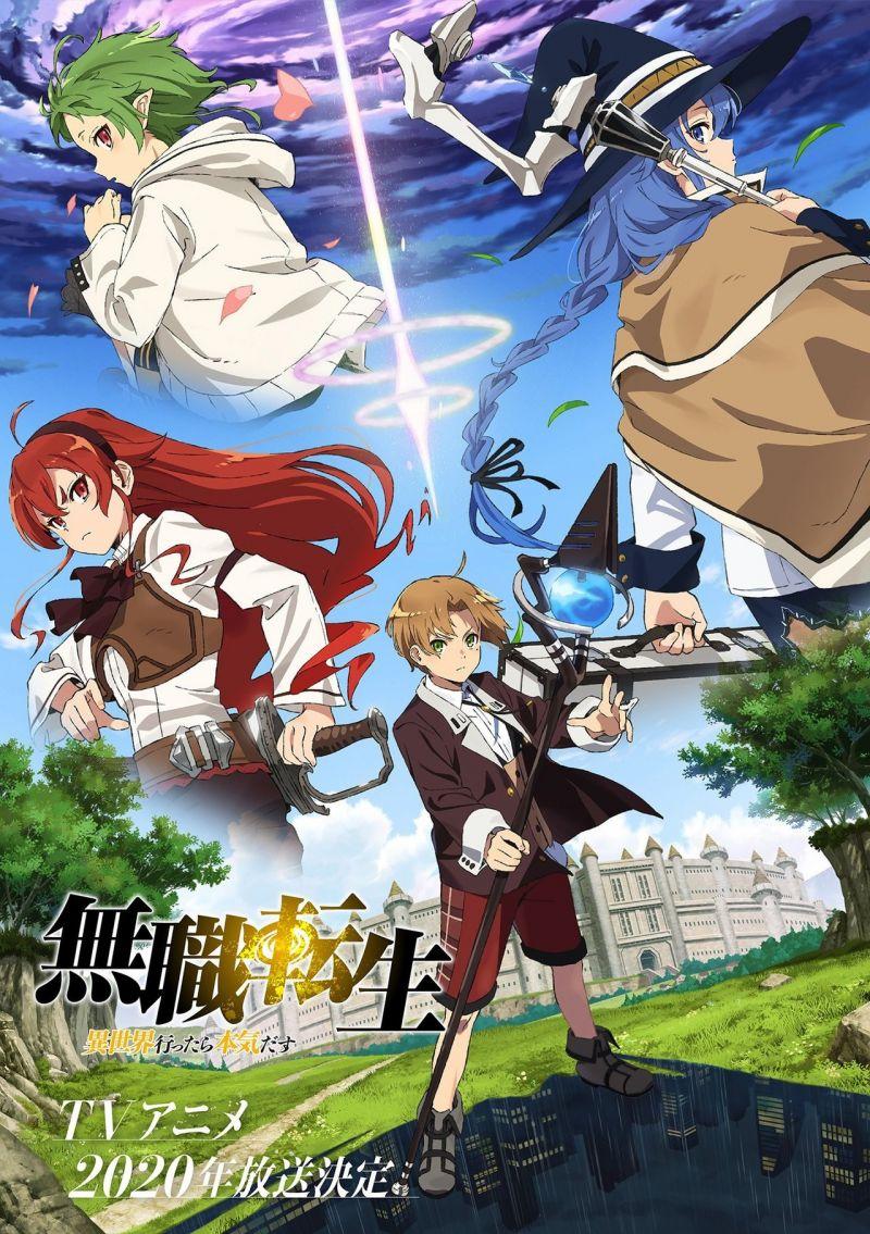 Un nouveau teaser pour l'animé Mushoku Tensei !