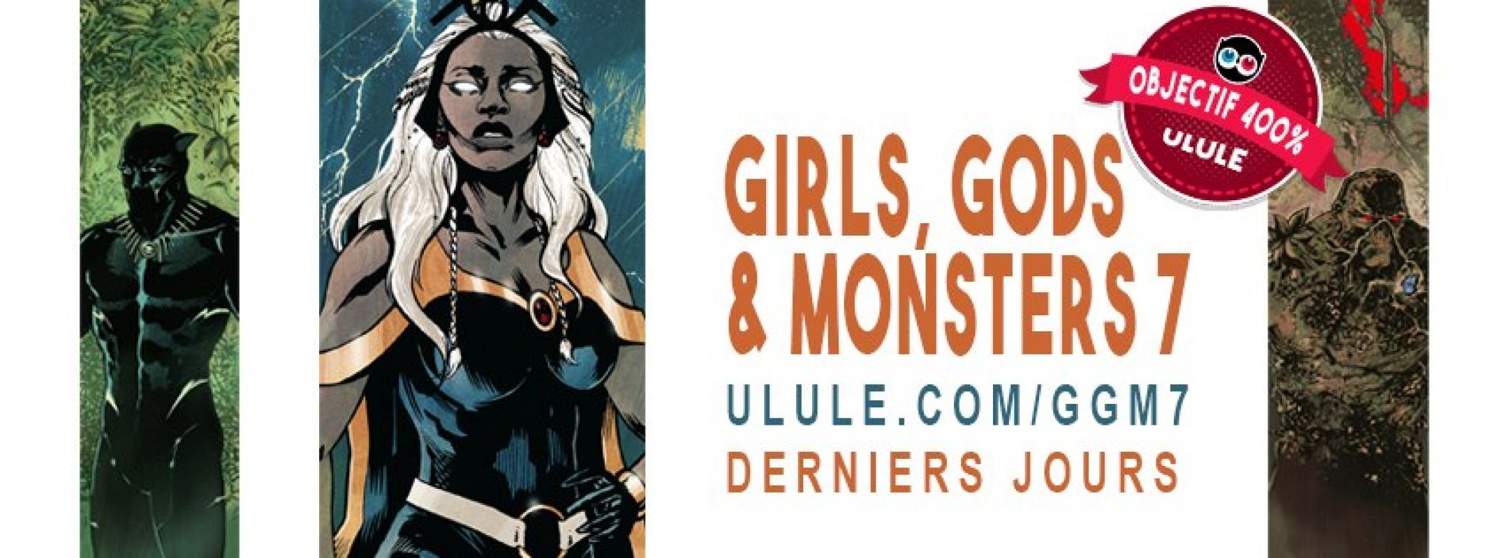 Plus que ce week-end pour soutenir Girls, Gods & Monsters & More de Julien Hugonnard-Bert !
