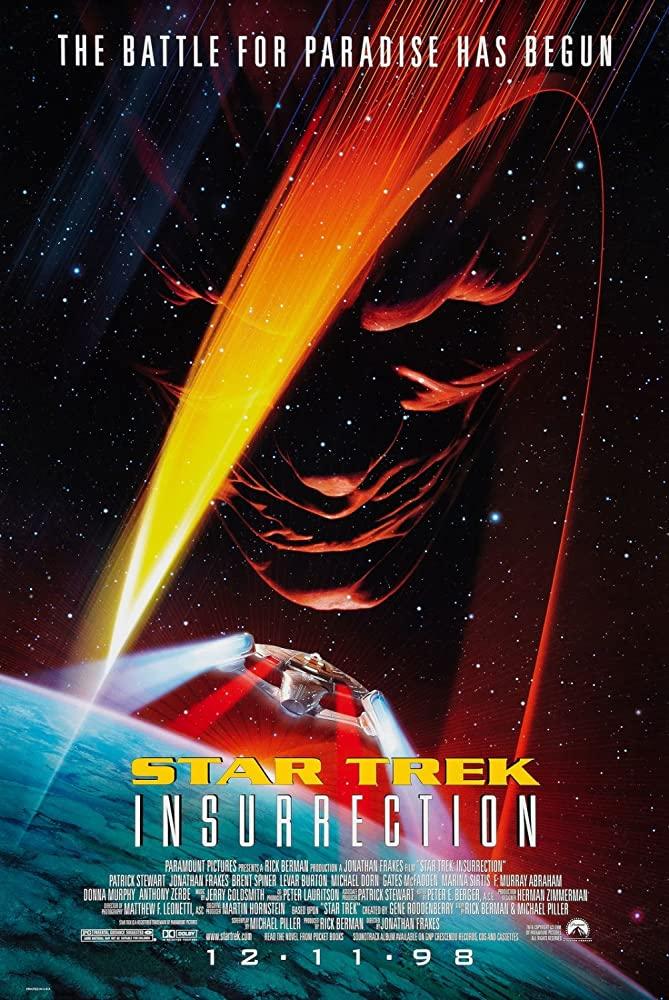 Retour vers le passé :  Star Trek - Insurrection (1998)
