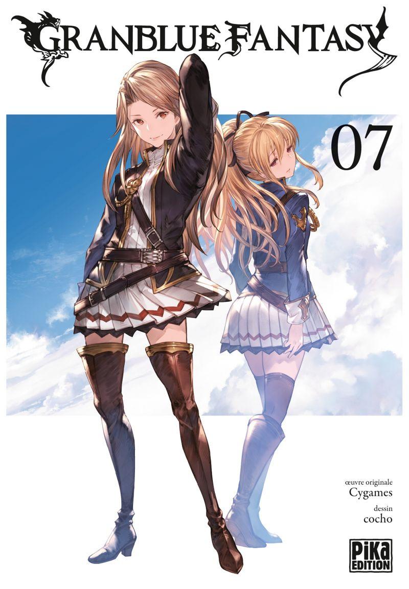Le tome final du manga Granblue Fantasy divisé en deux volumes !