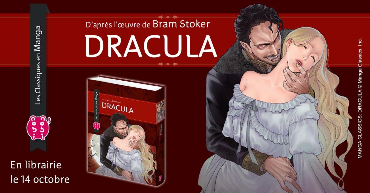 Dracula en manga chez Nobi-nobi