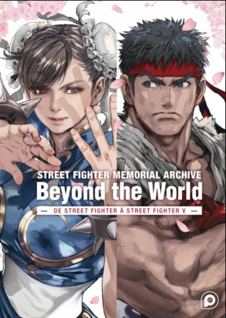 L'artbook Street Fighter Memorial Archive Beyond The World arrive chez Kurokawa !