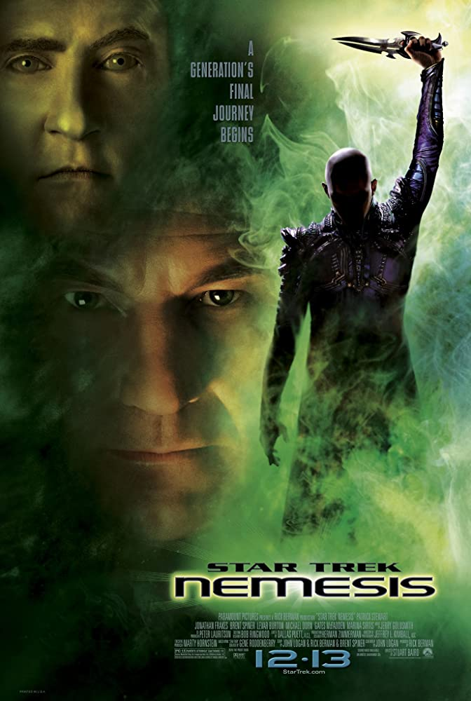 Retour vers le passé :  Star Trek - Nemesis (2002)