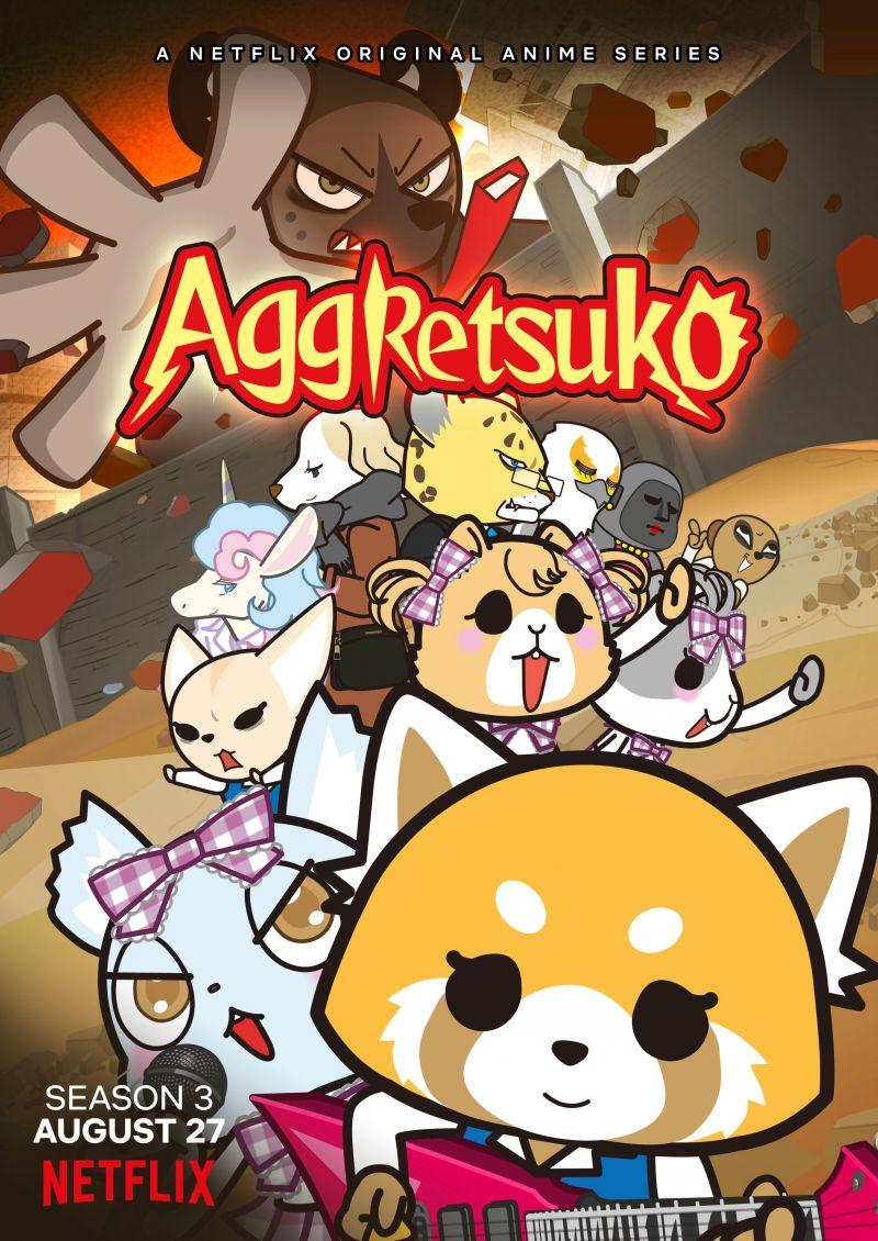 Un premier trailer pour la saison 3 de l'animé Aggretsuko !