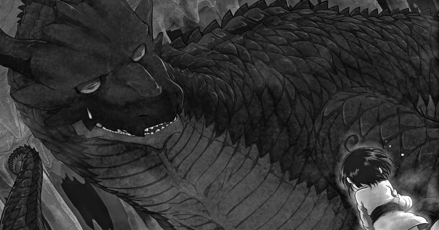 Découvrez les premières pages du manga Le Puissant Dragon Vegan !