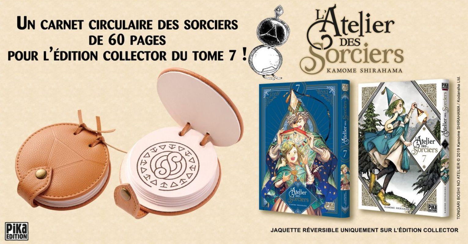 Pika dévoile l'édition collector du tome 7 de L'Atelier des Sorciers !