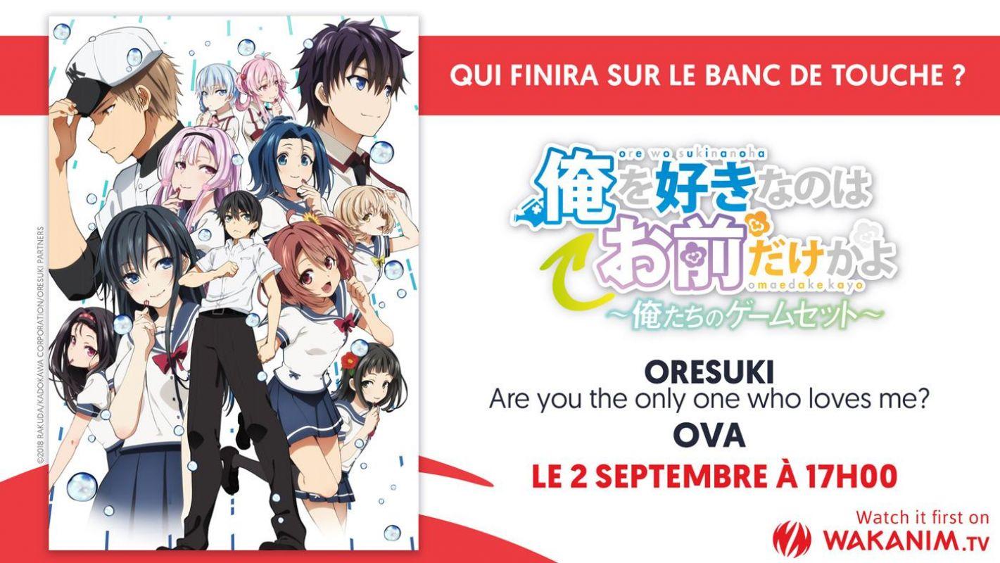 L'OAV final d'Oresuki arrive en septembre sur Wakanim !