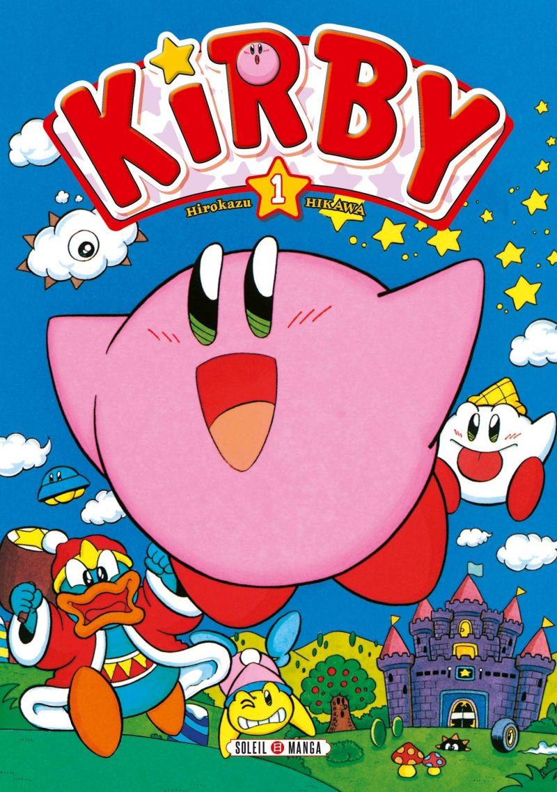 Découvrez les premières pages des Aventures de Kirby dans les Étoiles en ligne !