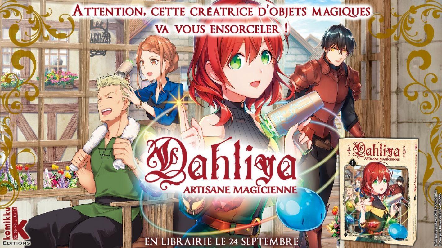 Dahliya - Artisane Magicienne chez Komikku
