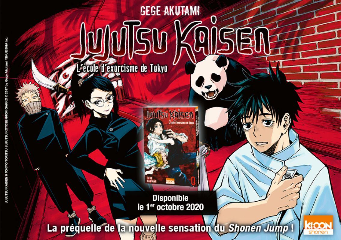 Jujutsu Kaisen tome 0 arrive chez Ki-oon !