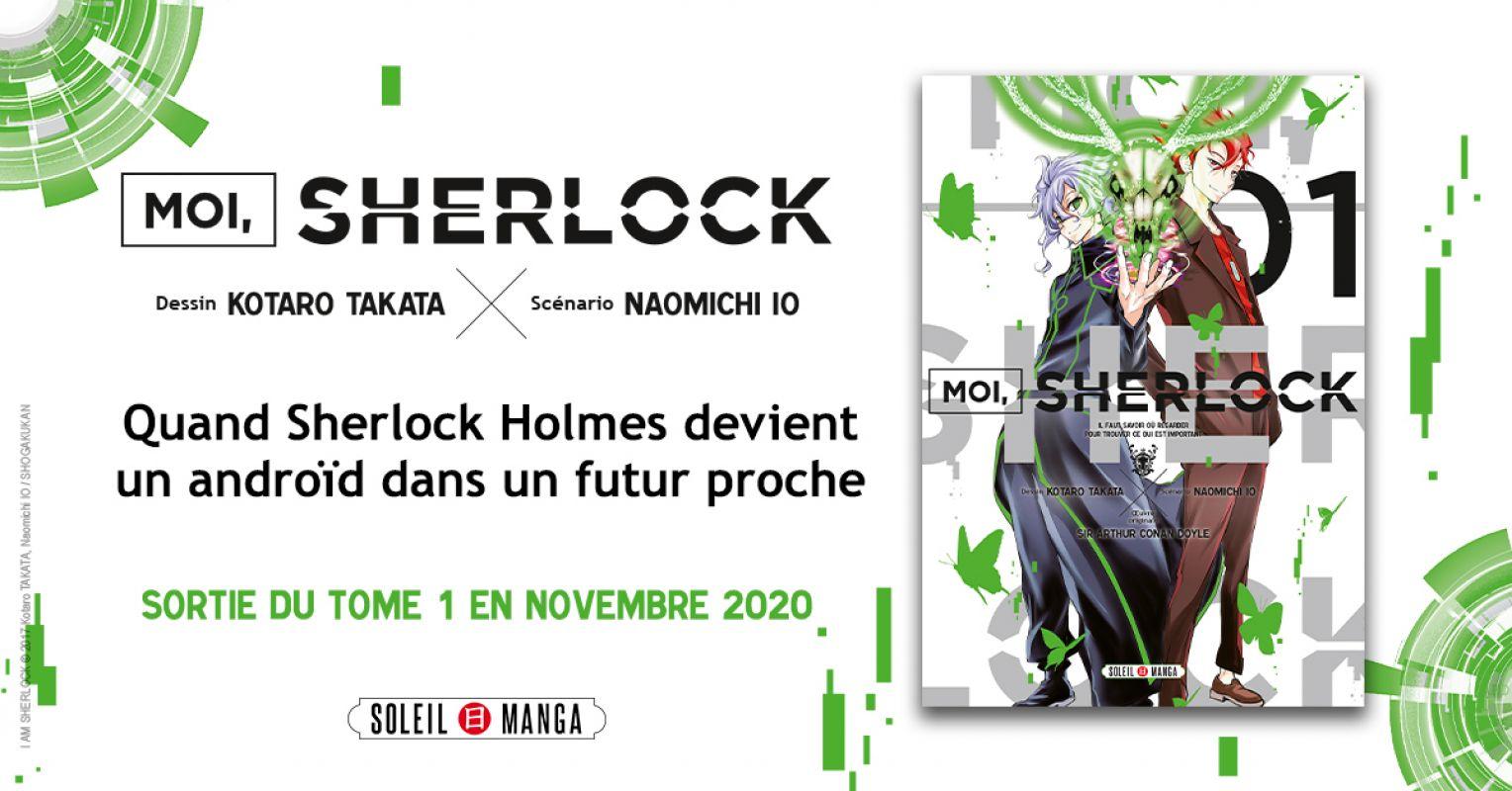 Moi, Sherlock chez Soleil Manga