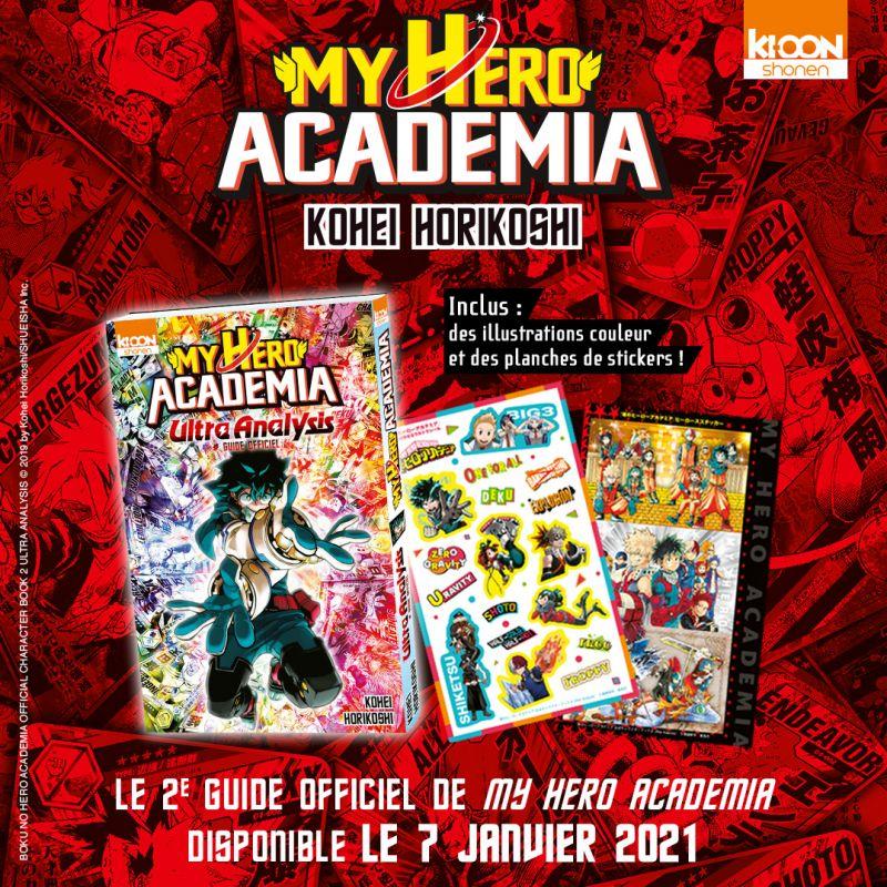 Le guide My Hero Academia Ultra Analysis arrive chez Ki-oon !