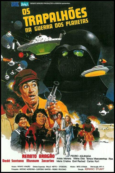 Retour vers le passé :  Os Trapalhões na Guerra dos Planetas (1978)