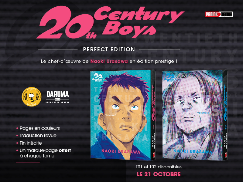 La Perfect Édition de 20th Century Boys arrive chez Panini Manga !