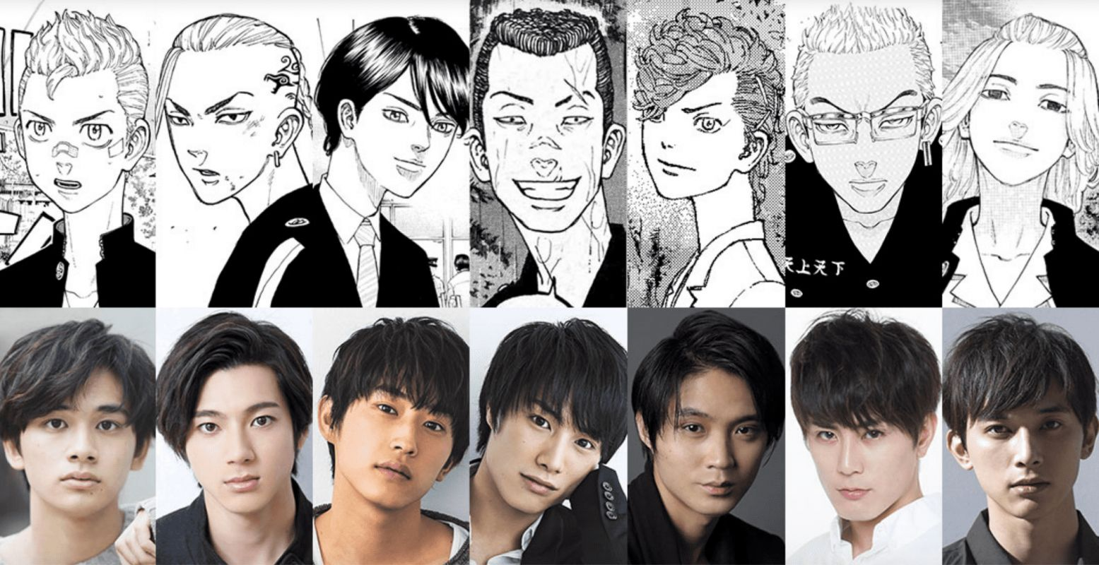 Découvrez le casting de la version live-action du manga Tokyo Revengers !