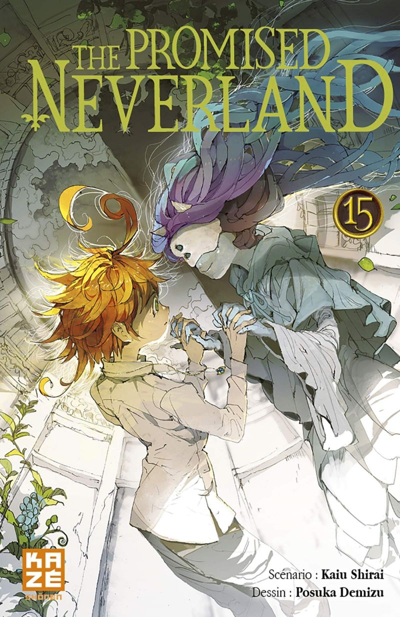 Un nouveau one-shot pour le manga The Promised Neverland !