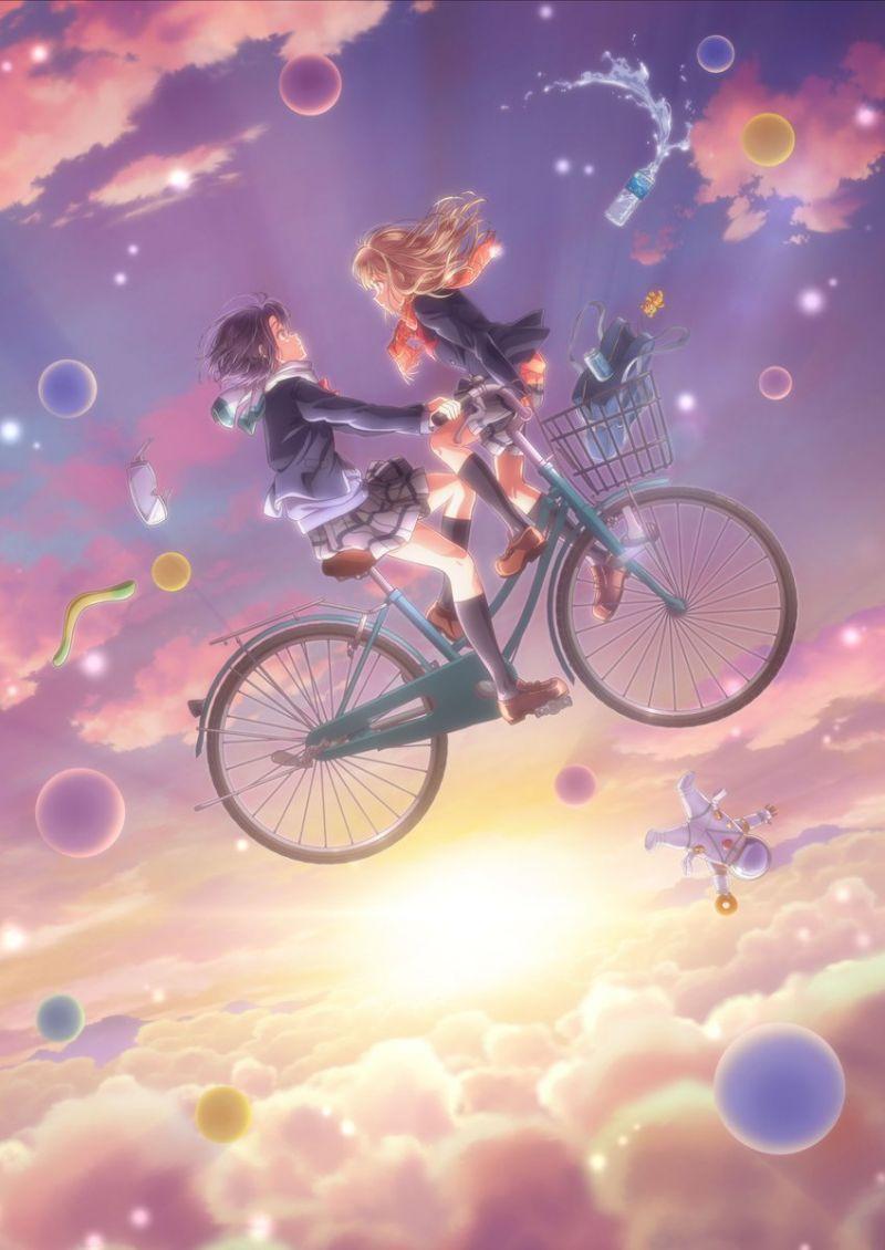 Deux characters teasers pour l'animé Adachi et Shimamura !