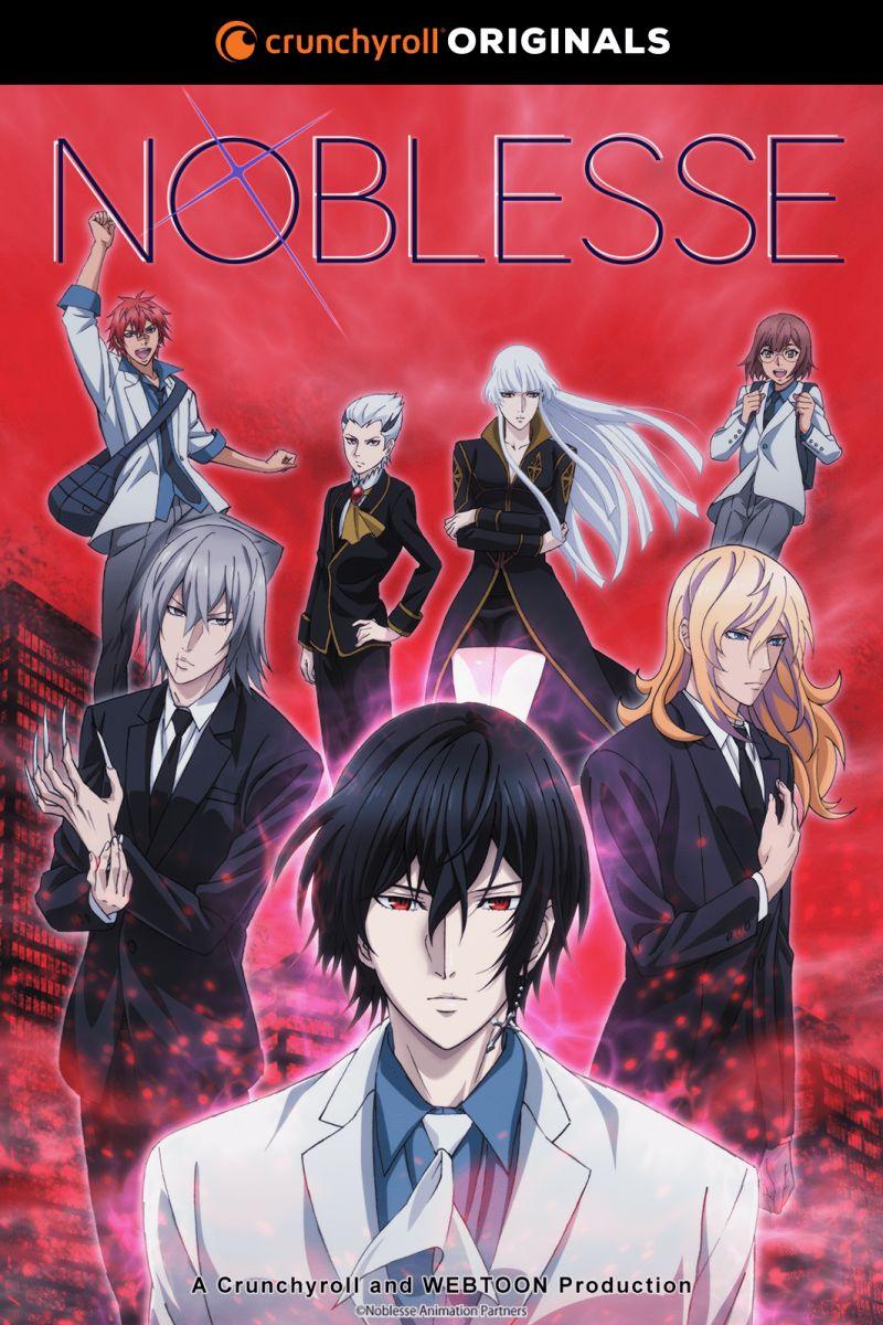 Un nouveau trailer pour l'animé Noblesse !