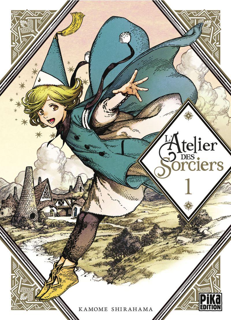 L'Atelier des Sorciers élu meilleur manga aux Harvey Awards !