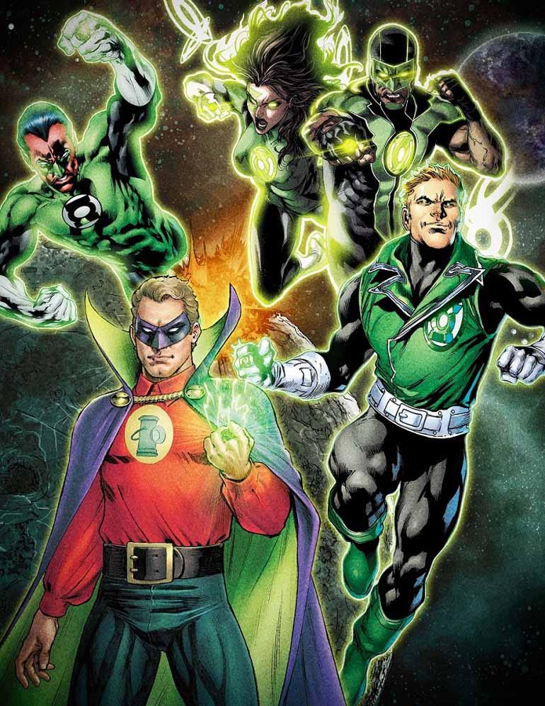 Une série TV pour les Green Lantern !