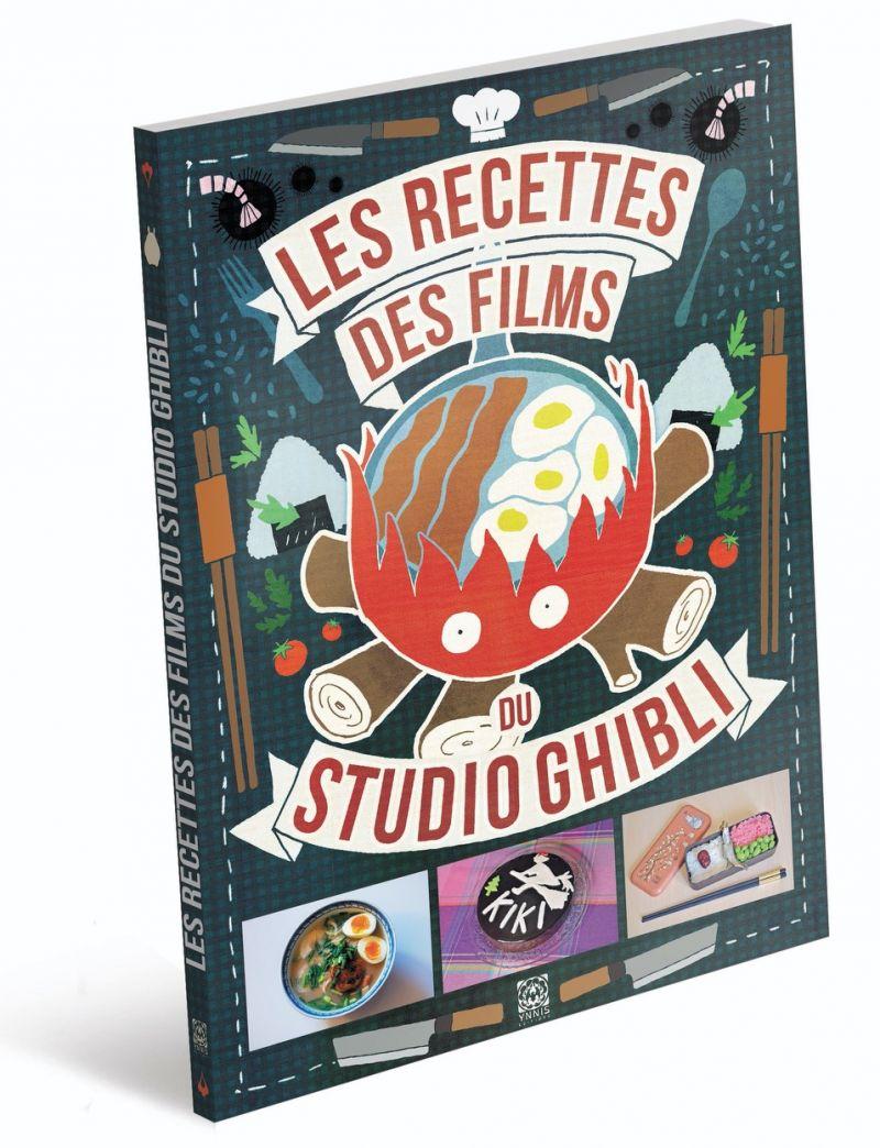 Les Recettes des Films du Studio Ghibli chez Ynnis Editions