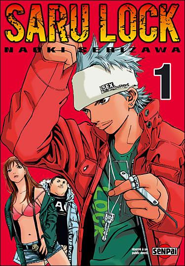 Un nouveau spin-off annoncé pour le manga Saru Lock !