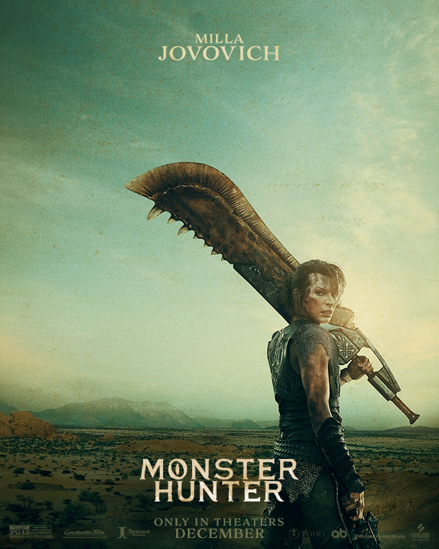 Un premier trailer pour le film live-action Monster Hunter !