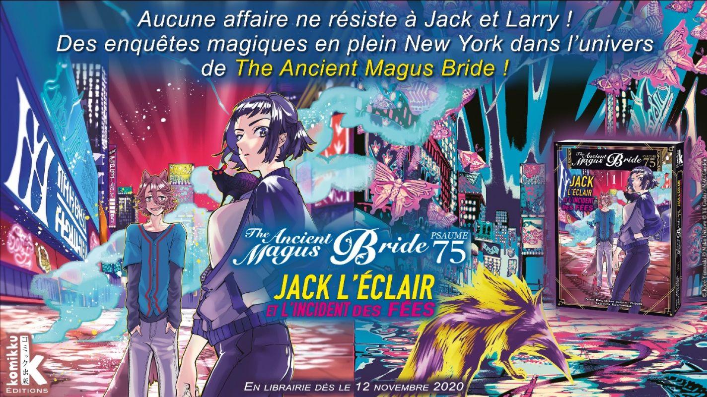 The Ancient Magus Bride - Psaume 75 : Jack L'Éclair et l'Incident des Fées chez Komikku !