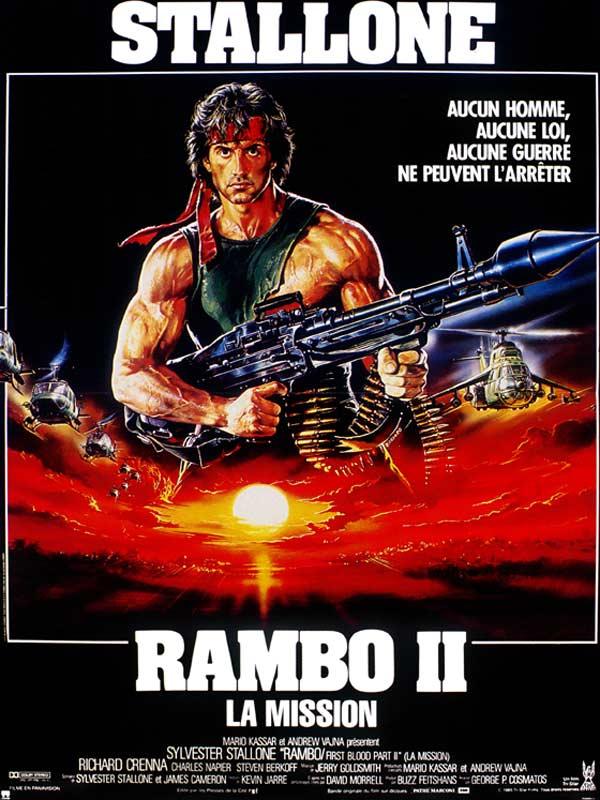 Retour vers le passé :  Rambo II - La Mission (1985)