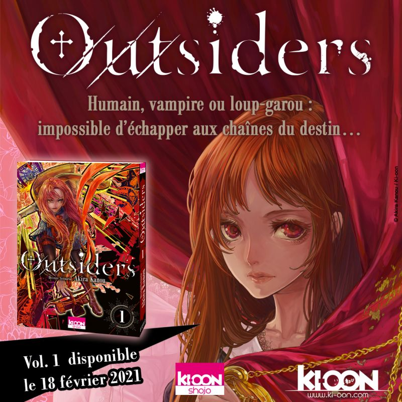 Outsiders chez Ki-oon