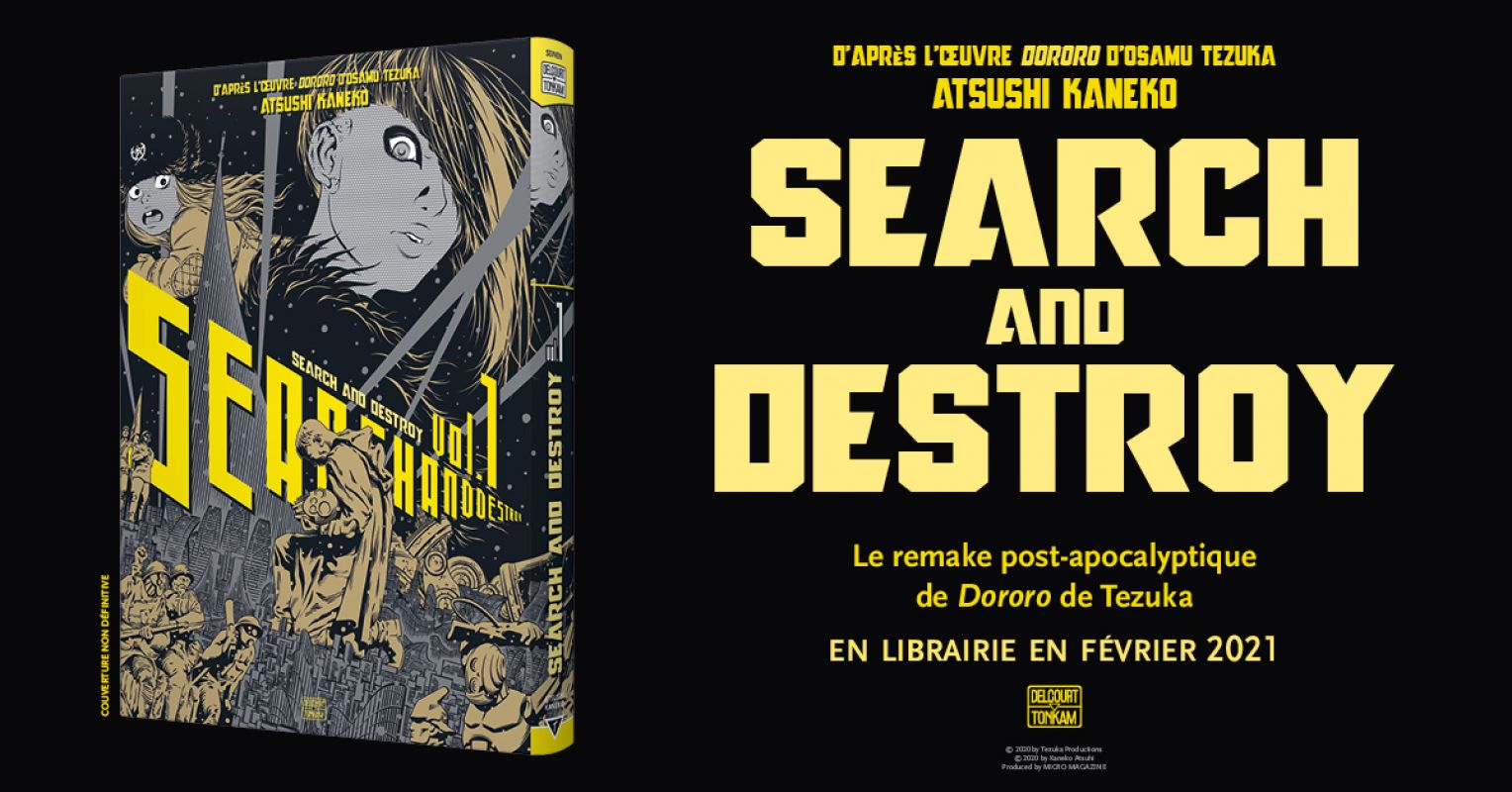 Search and Destroy chez Delcourt/Tonkam