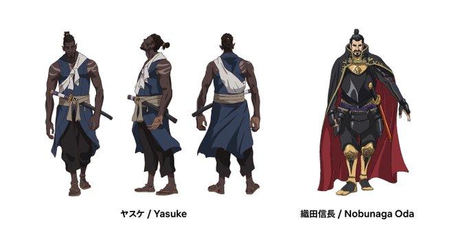 Des infos sur l'animé original Yasuke !