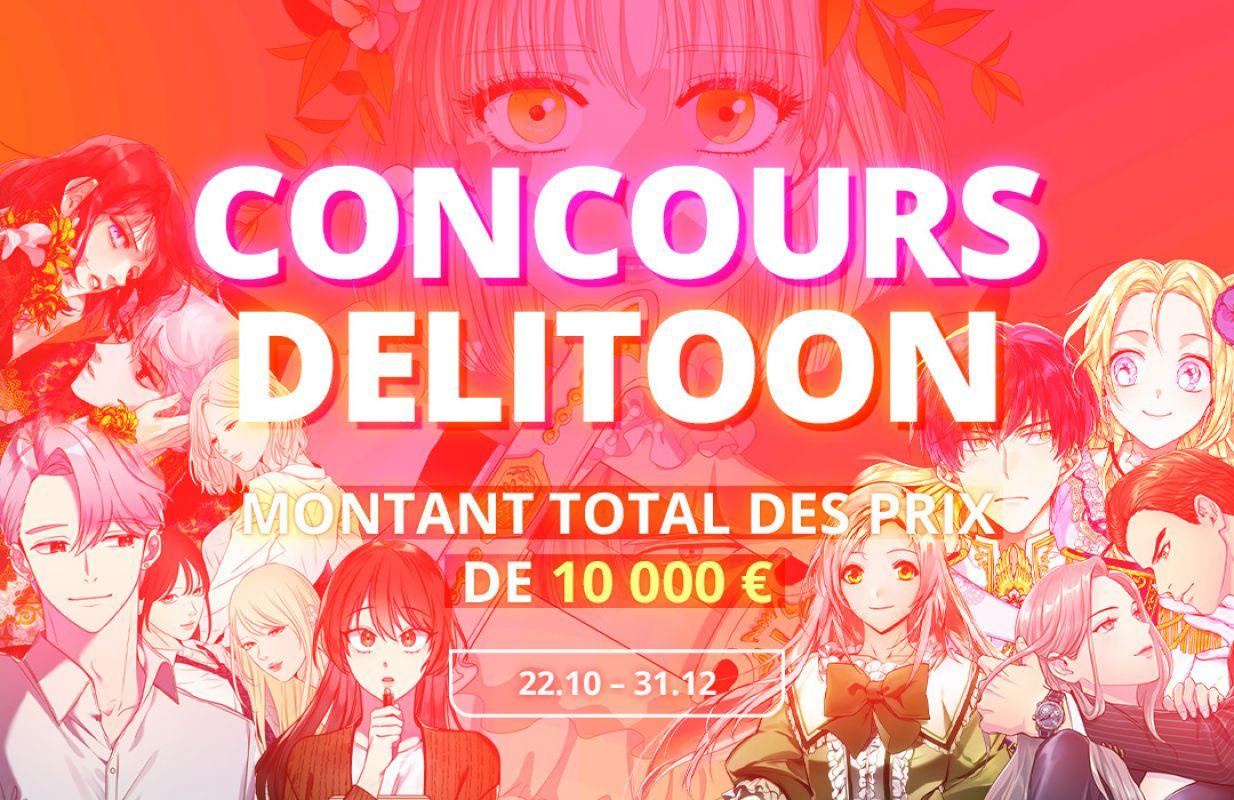 Delitoon lance son premier concours de webtoon !