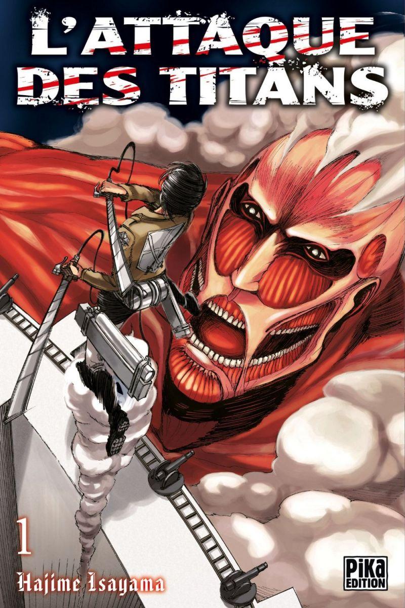Une nouvelle version en couleur pour le manga L'Attaque des Titans !