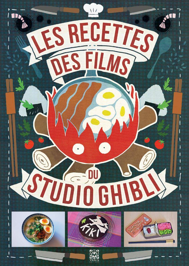 Concours Les Recettes des Films du Studio Ghibli avec Ynnis