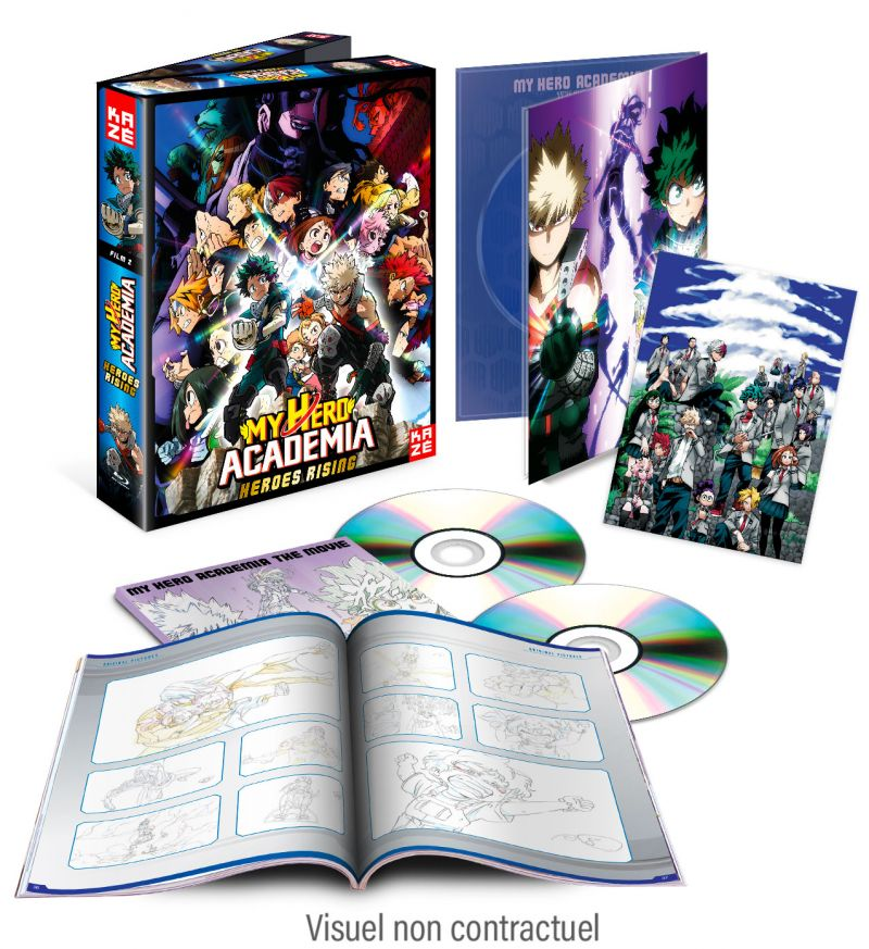 Le film My Hero Academia Heroes Rising arrive en blu-ray et DVD chez Kazé !
