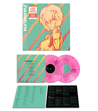L'album Evangelion Finally arrive en France !