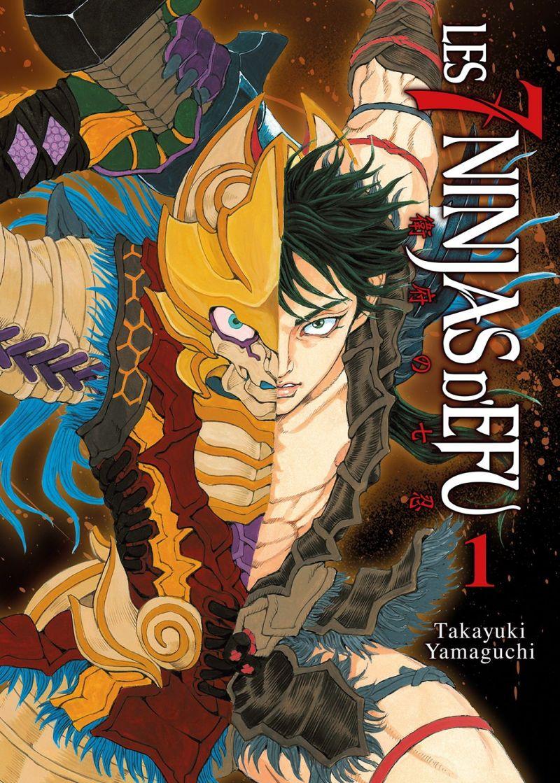 Le manga Les 7 Ninjas d'Efu se termine au Japon !