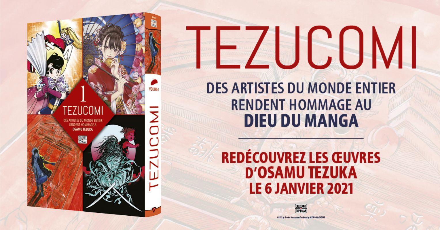 L'anthologie Tezucomi chez Delcourt/Tonkam