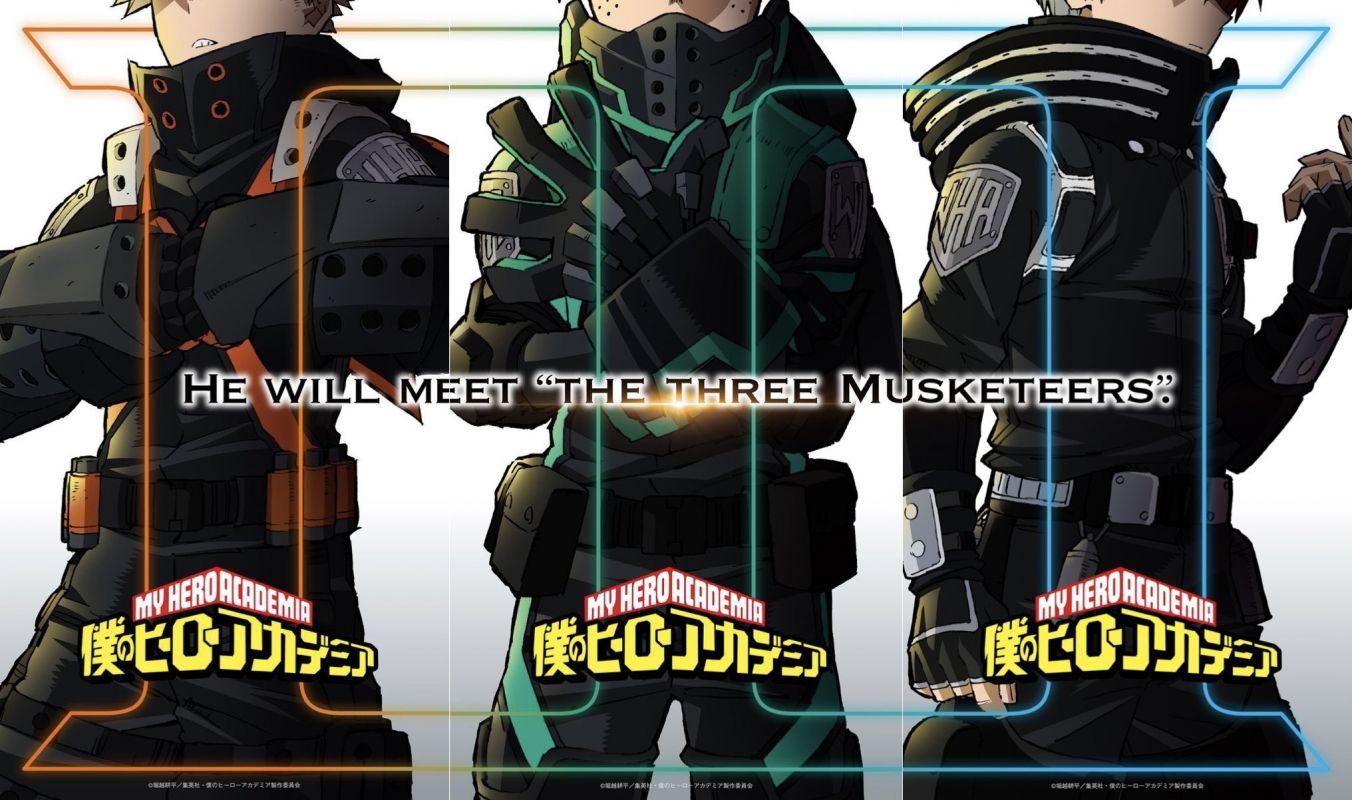 Un troisième film d'animation pour le manga My Hero Academia !