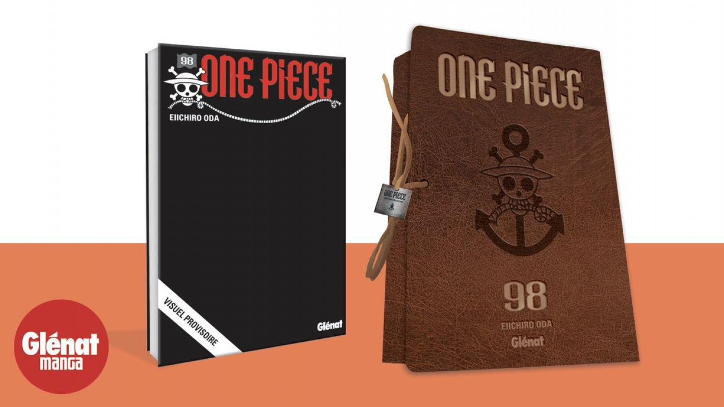 Une édition collector pour le tome 98 de One Piece !