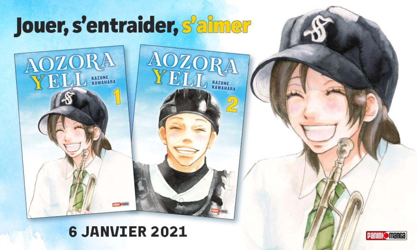 Aozora Yell de retour chez Panini Manga !