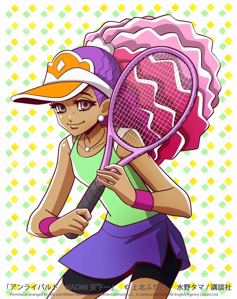 La championne de tennis Naomi Osaka devient l'héroine d'un manga !