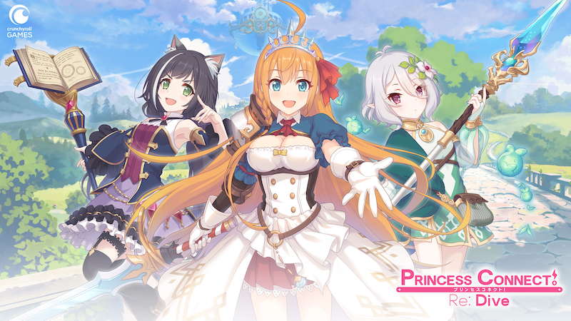 Le jeu mobile Princess Connect Re:Dive arrive bientôt en France !