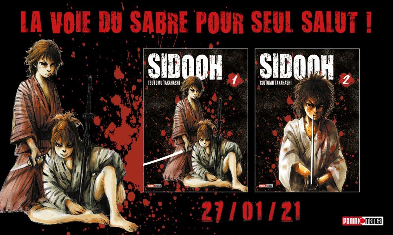 Sidooh de retour chez Panini Manga !